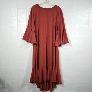 LuLaRue Maurine Ruffle Dress